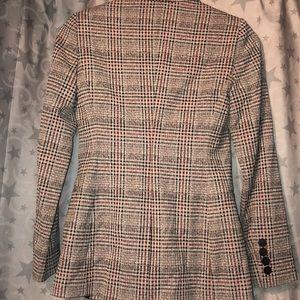 Reiss Jackets & Coats - Reiss Libi Check Jacket, Grey/Multi US 2/XS